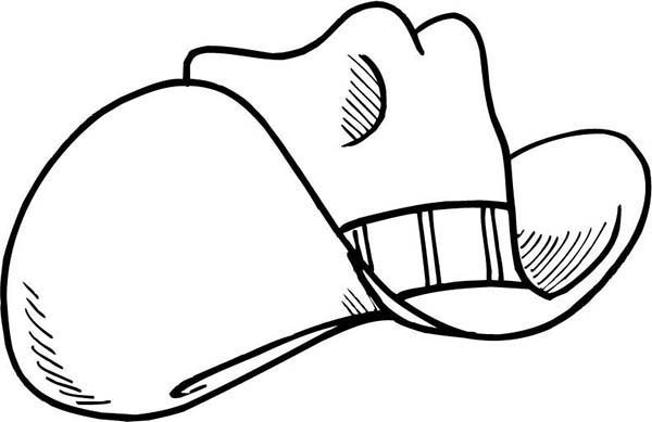 How To Color Rodeo Cowboy Hat Coloring Pages Toodsy Color